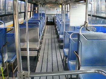 interior ônibus Alpha